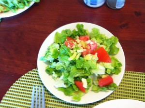 Fresh salad I made