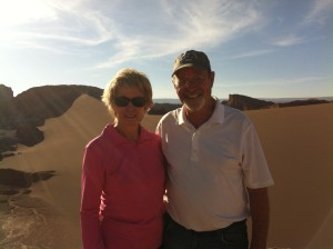 Mom and Dad at the Moon Valley